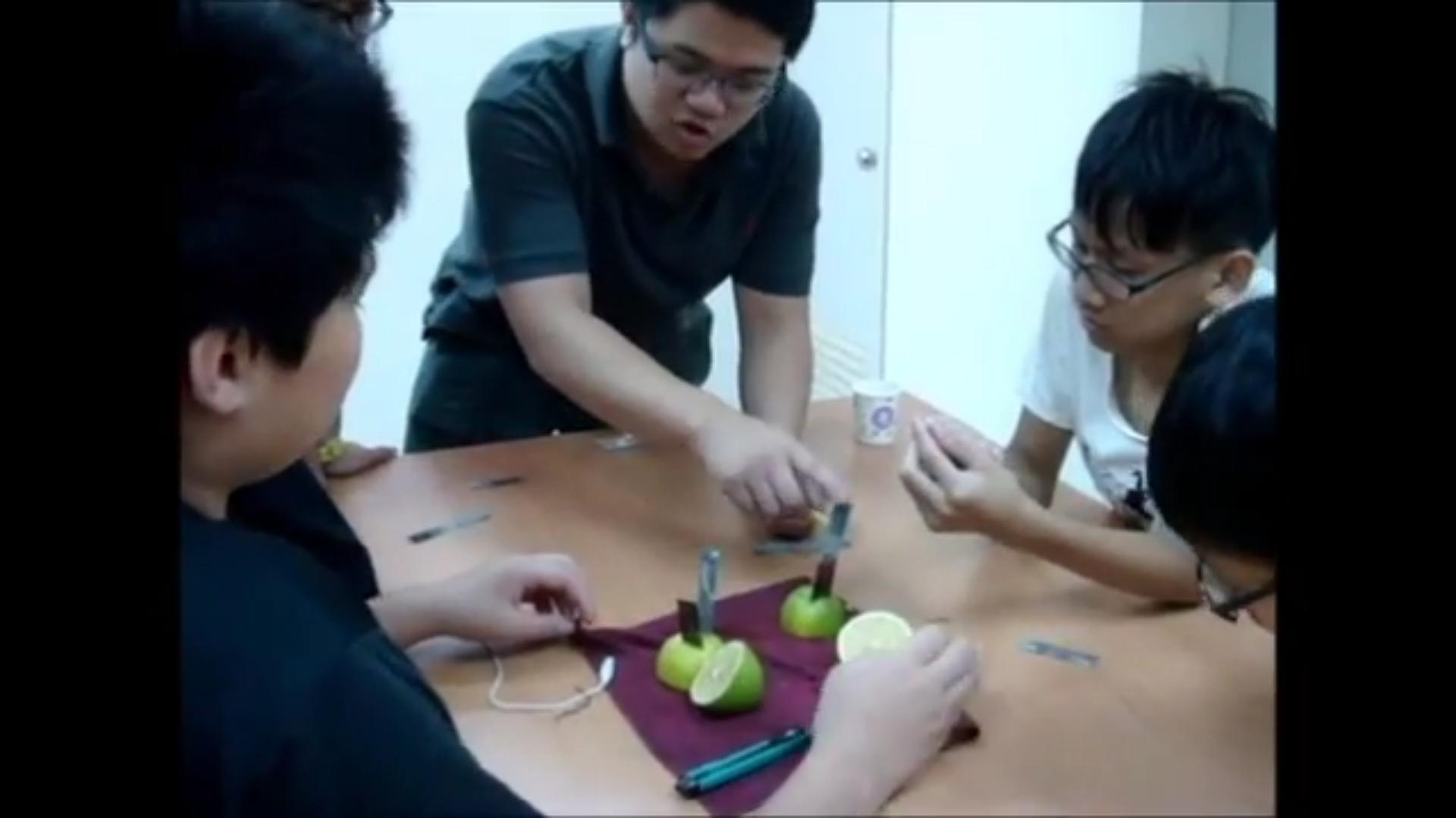 小宇宙自然科學教室【水果電池】