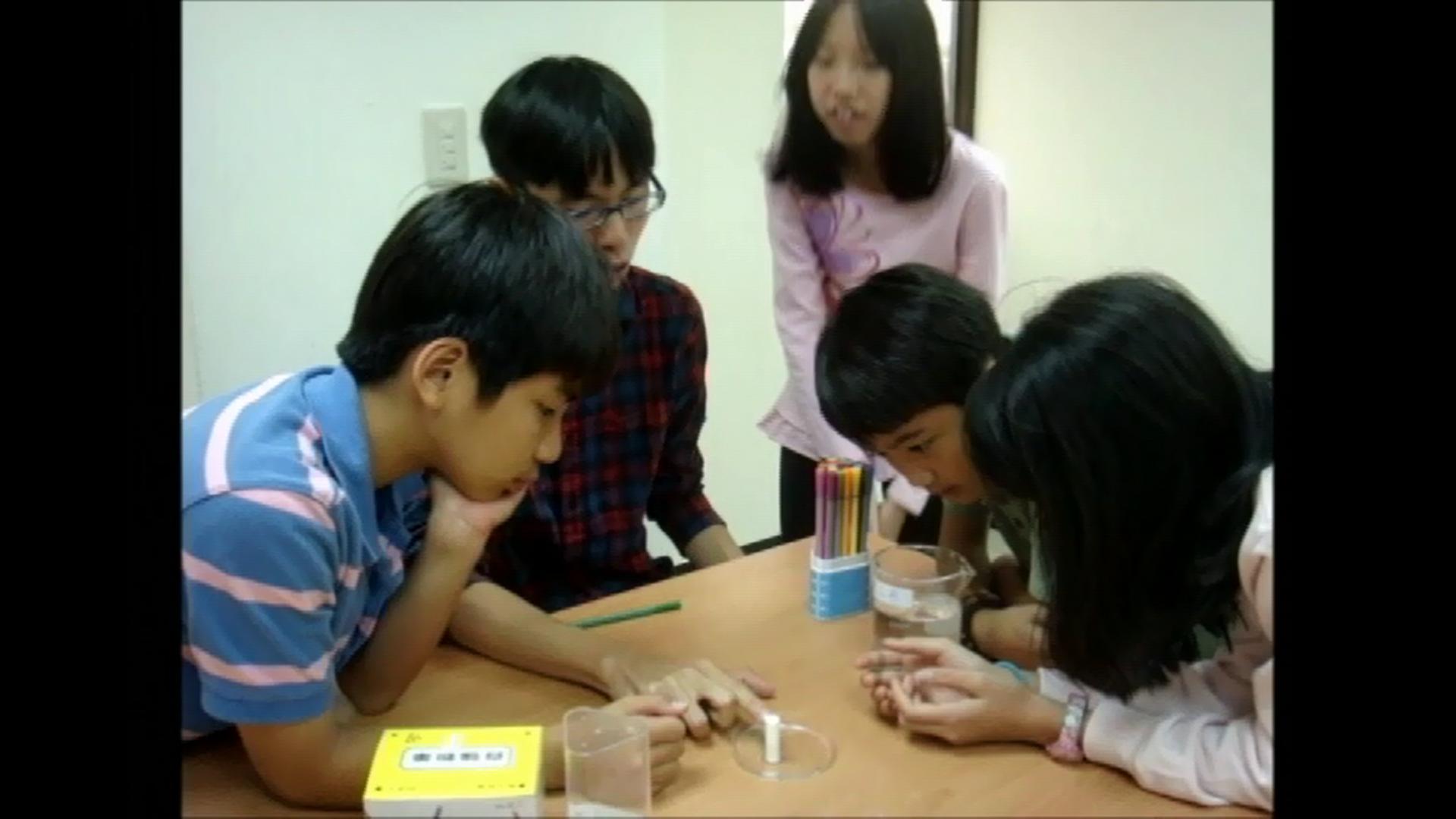 小宇宙自然科學教室【色彩競速賽】