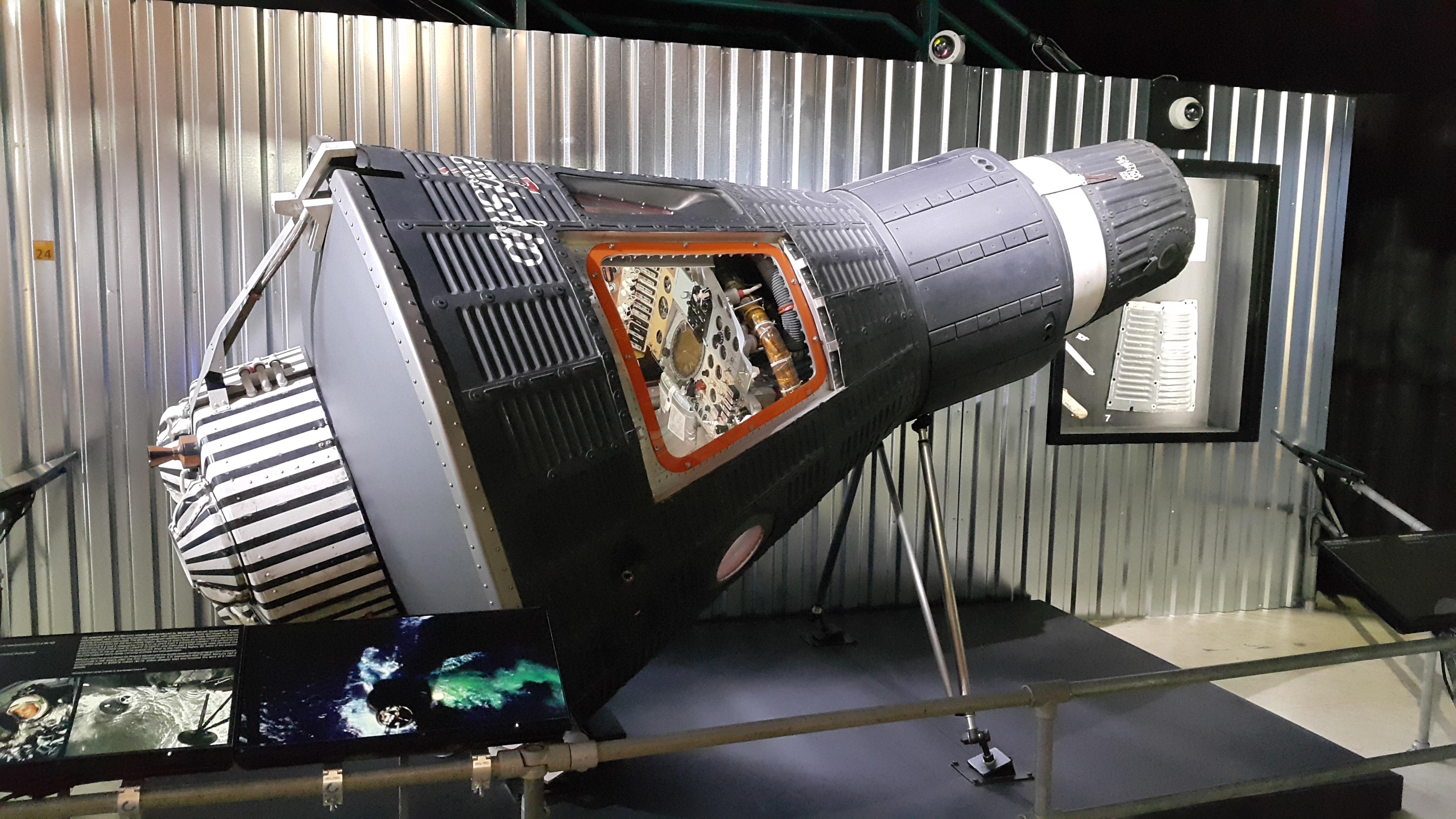 230水星計畫太空船NASA