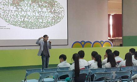 2016.11.25 南投縣立魚池國中專題演講 太空中心教我的事