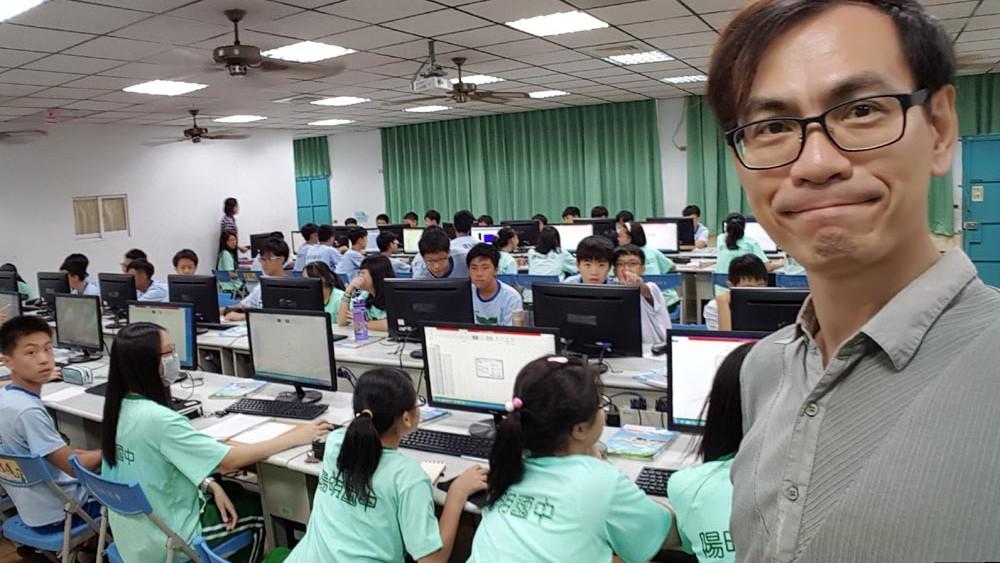 2017.09.22 高雄市陽明國中 我與福衛三號的故事