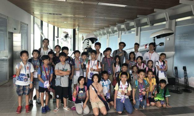 2018.07.02~07.04 太空科學夏令營(台北場)