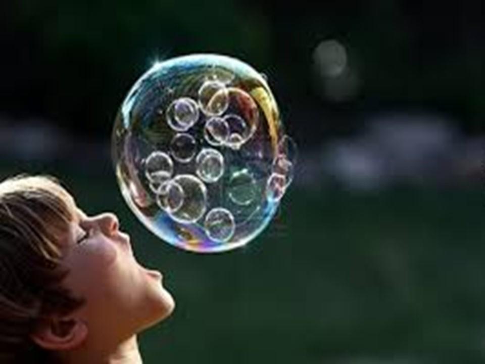 許我一個長命泡泡吧!