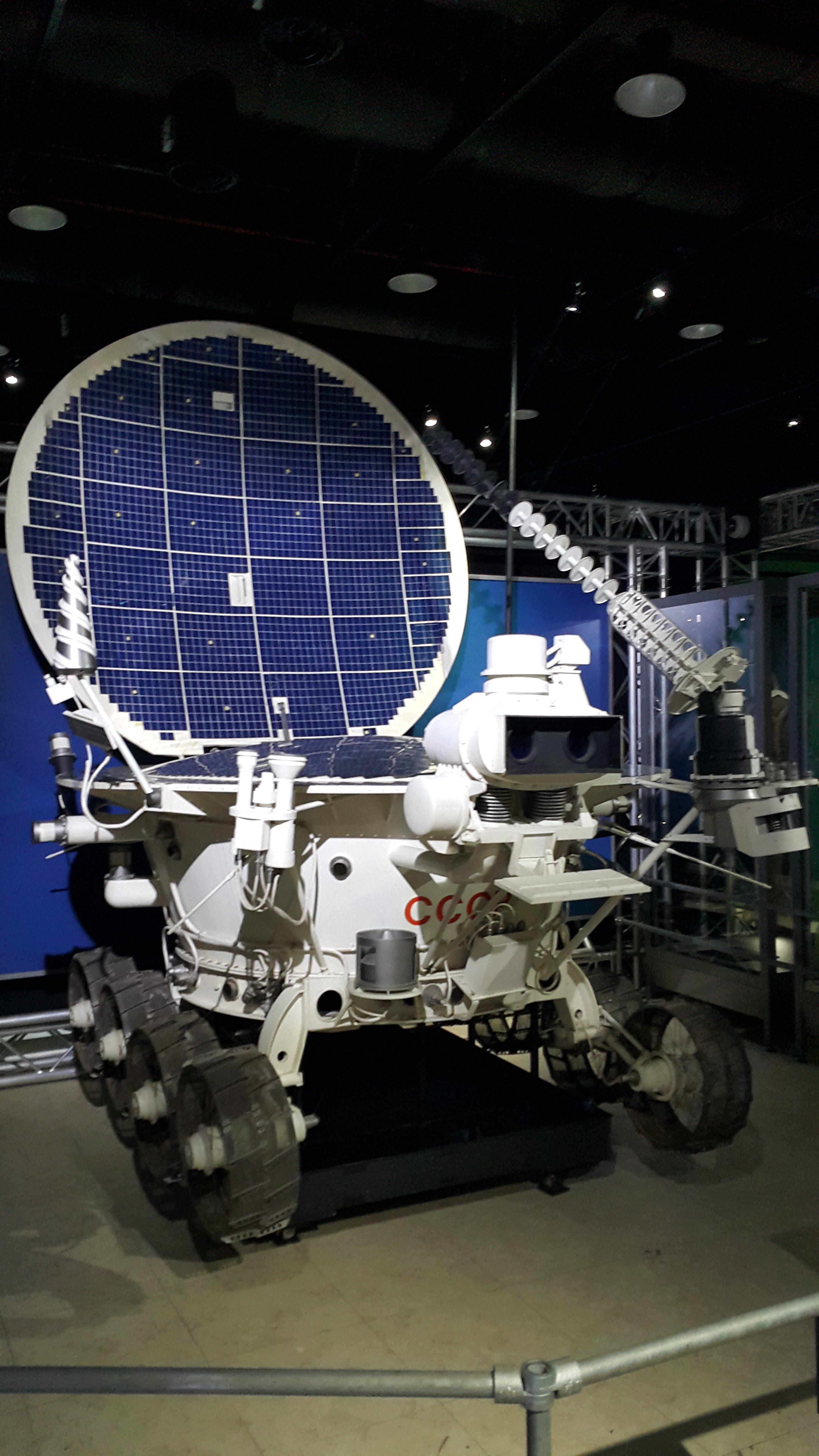 210俄登月車NASA