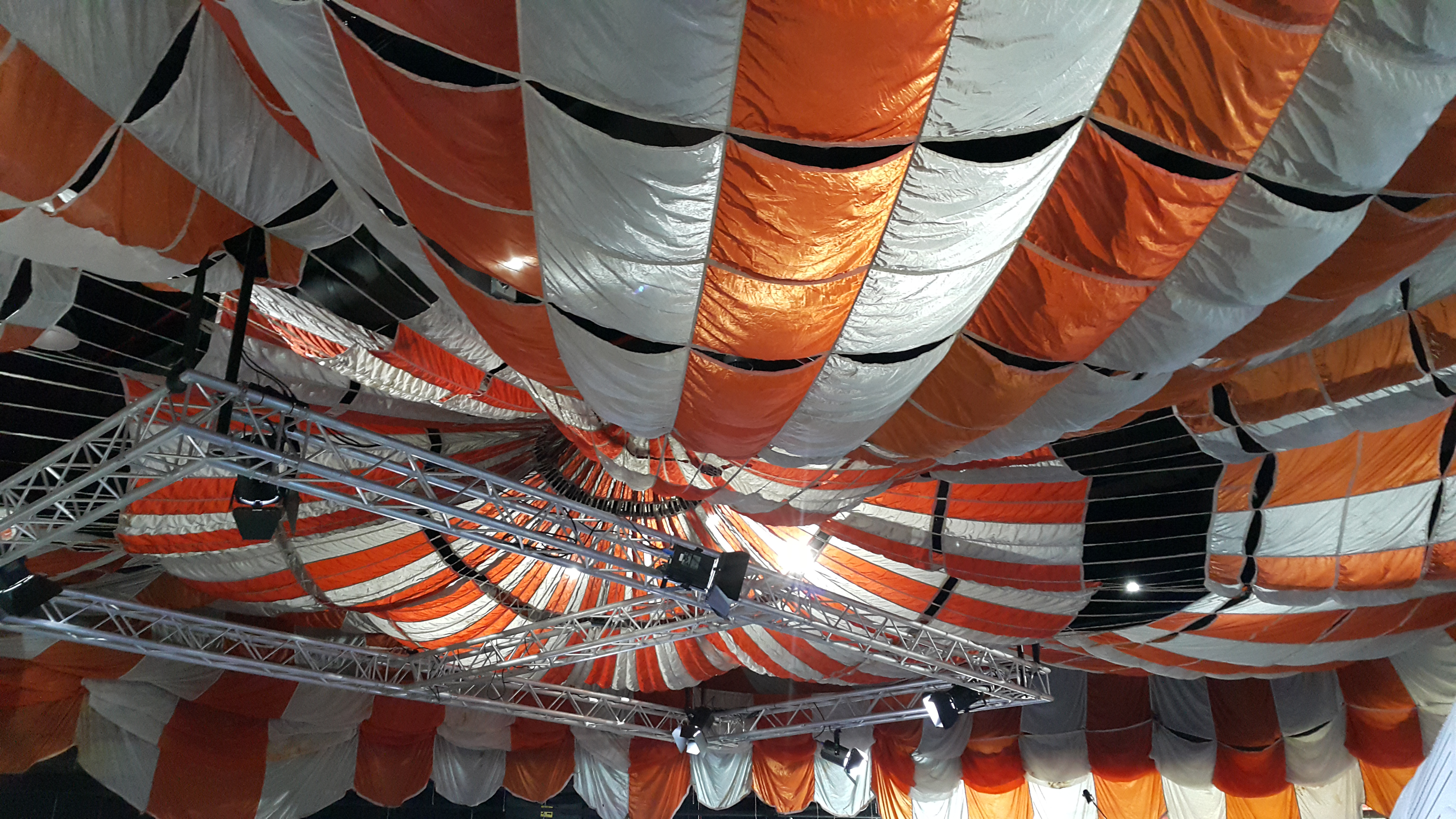 270阿波羅指揮艙降落傘一