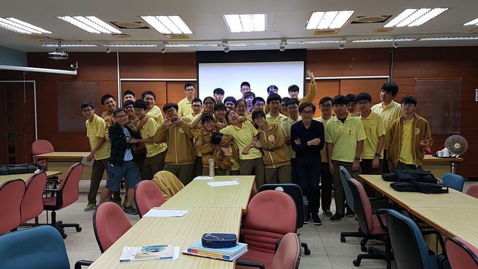 2017.11.03 國立羅東高級中學 我與福衛三號的故事
