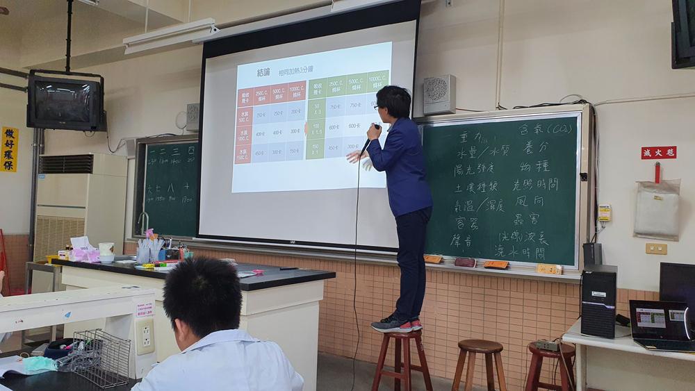 2021.04.24 臺中市私立衛道中學 科學研究力